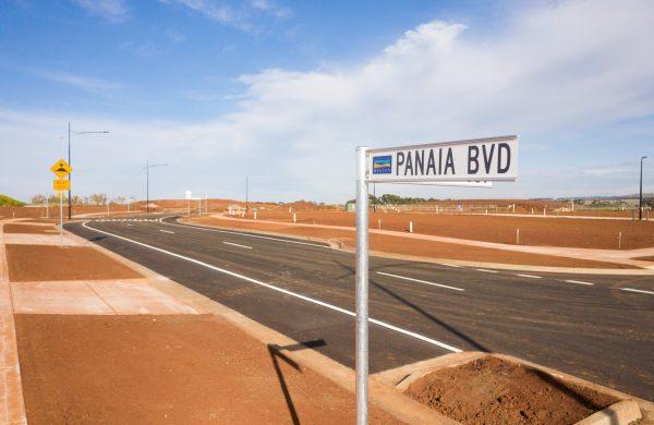 Construction Update October 2020 Panaia Boulevard Olivia, Truganina
